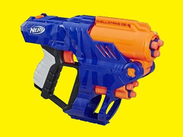 Обзор на бластер Nerf Elite ShellStrike DS-6